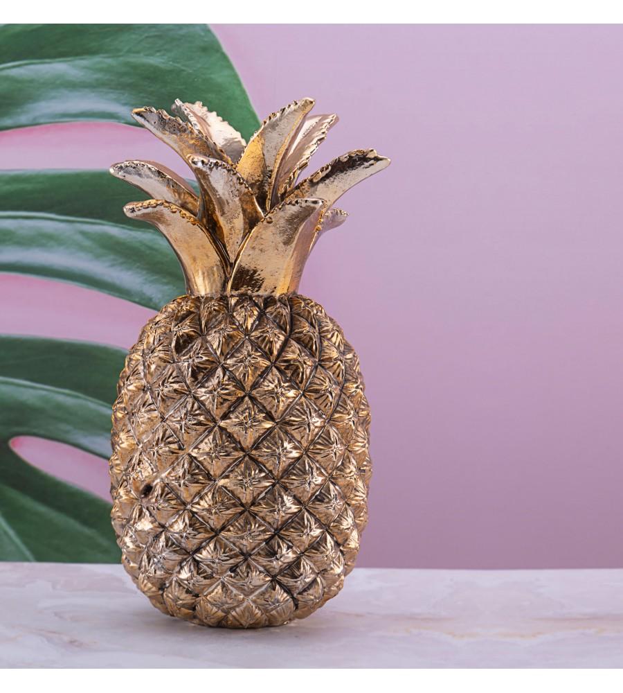 PR39-1003 - Altın Ananas 22cm