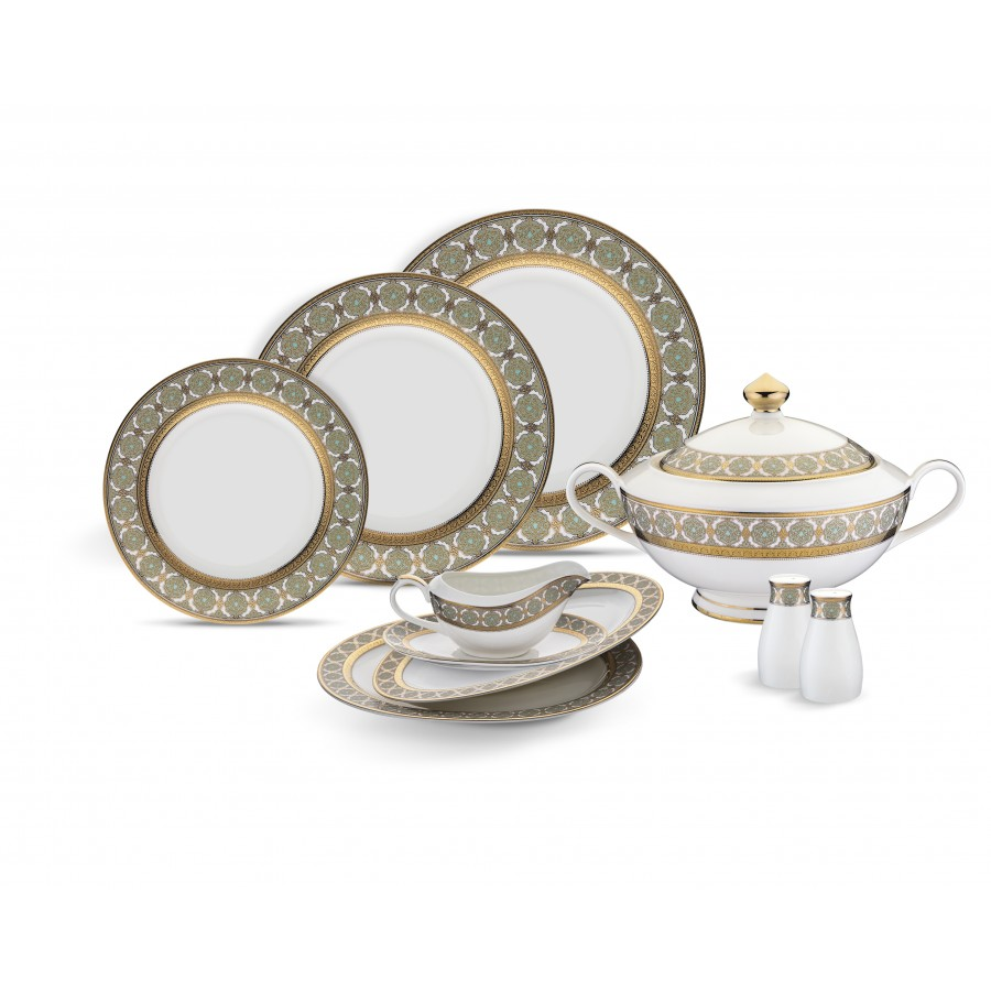 PYT-534 - Colle 74 Parça Bonechina Suplalı Y.Tk.