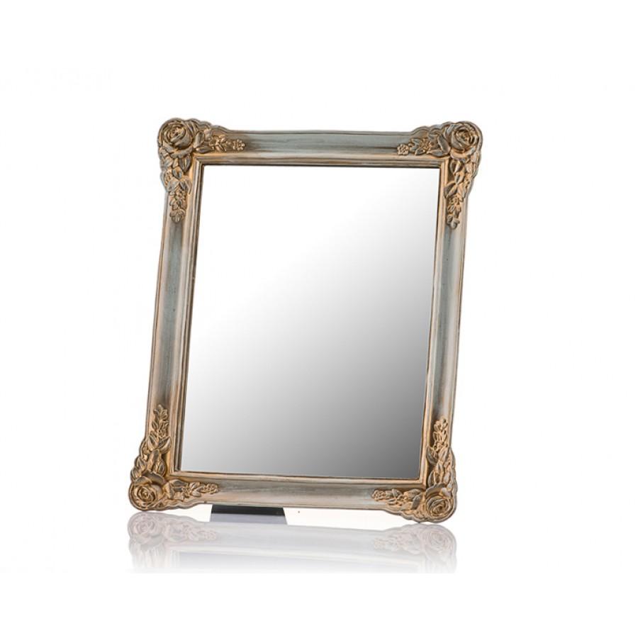 M58-129 - Güllü Altın Ayaklı Ayna 30*25