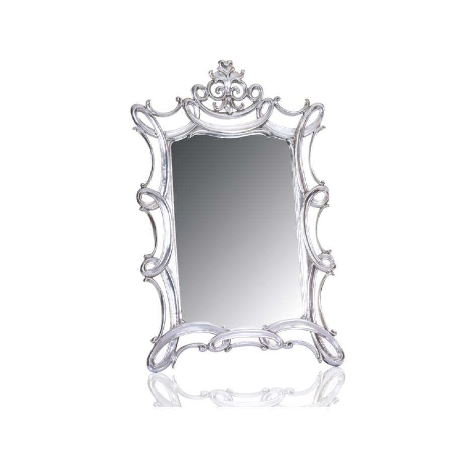 M64-124 - Oymalı Gümüş Ayna 140*90