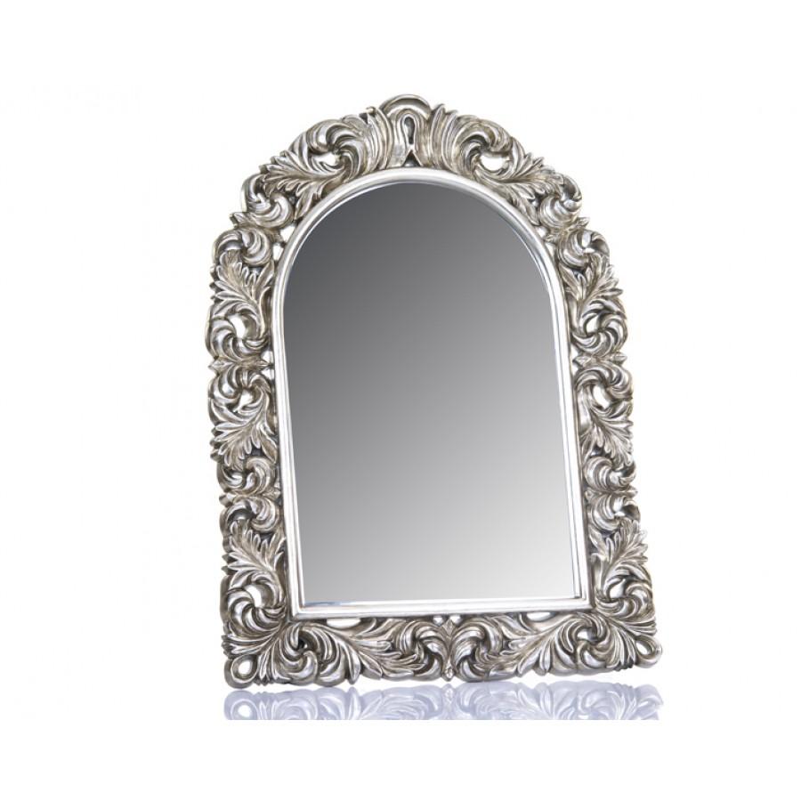 M64-126 - Motifli Gümüş Ayna 123*91
