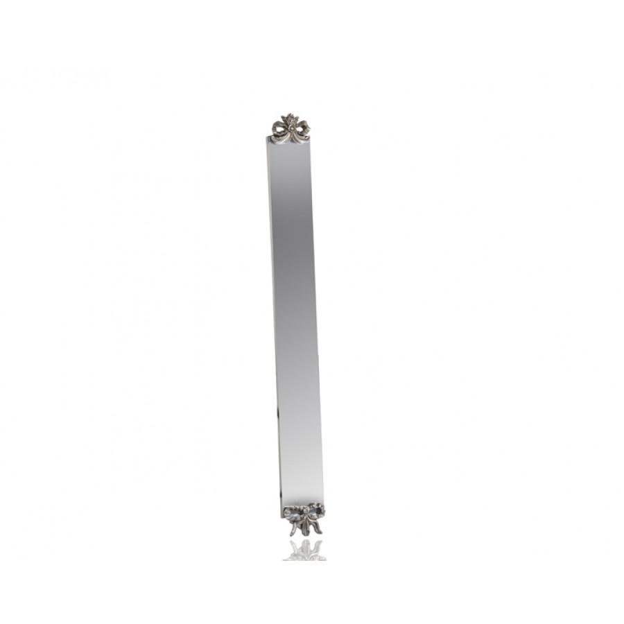 M64-136 - Kurdelalı Gümüş Niş Aynası 122*13