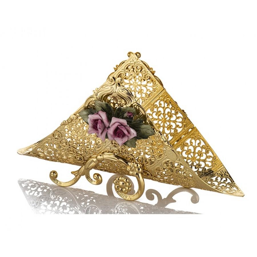 PR05-1005 - Kapitemonteli Altın Peçetelik 13*25