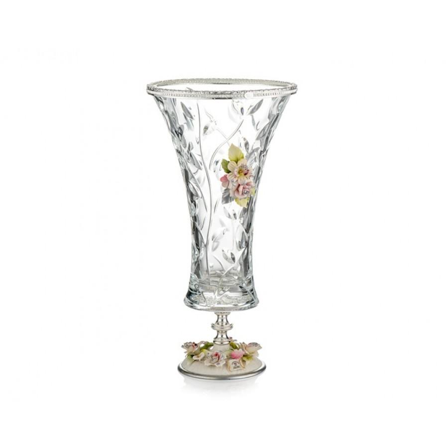 PR05-1074 - Gümüş Kapidemonteli Vazo 42*20