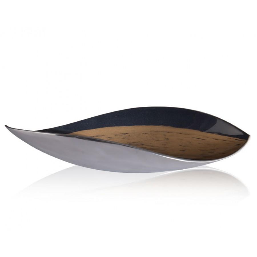 PR09-1070 - Fancy Blue Kayık Tabak 65x20x12 cm