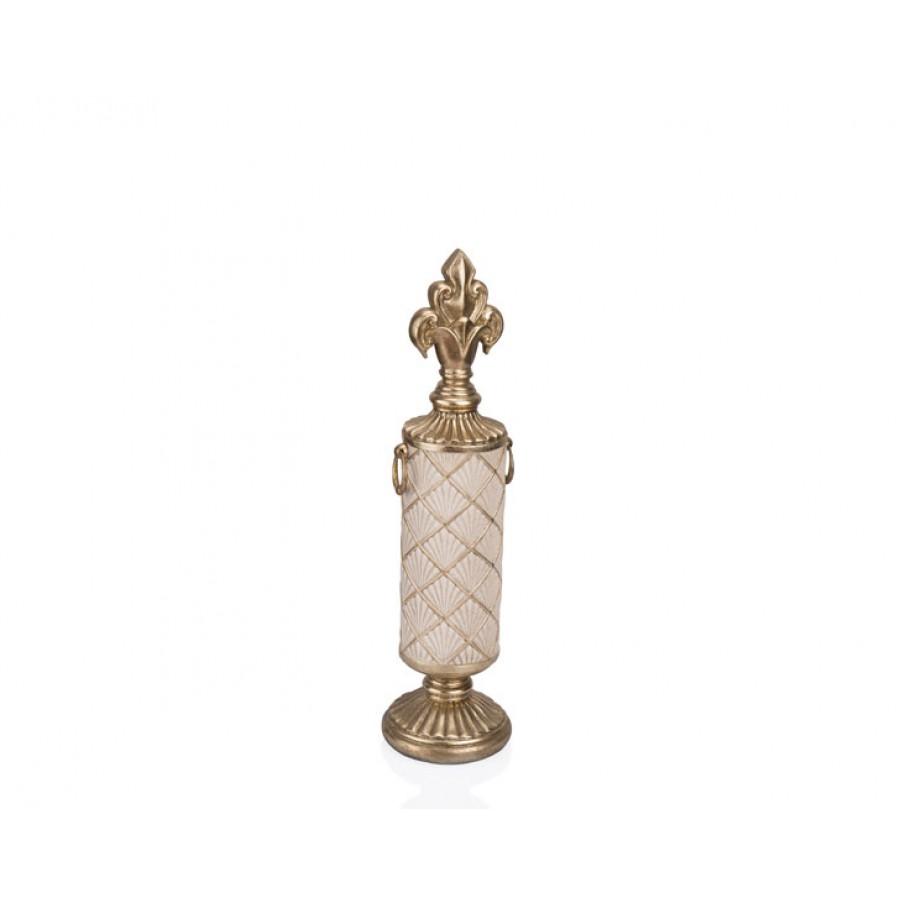 PR12-1023 - Altın Krem Dekor 11*11*46