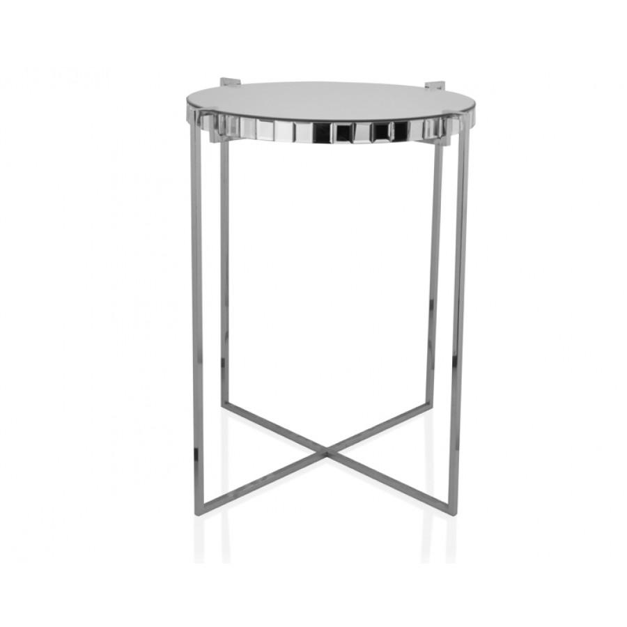 PR18-1010 - Gümüş Aynalı Sehpa 50*50*60