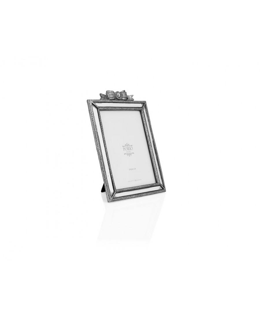 PR32-1032 - Gümüş Fiyonklu Çerçeve 13*18