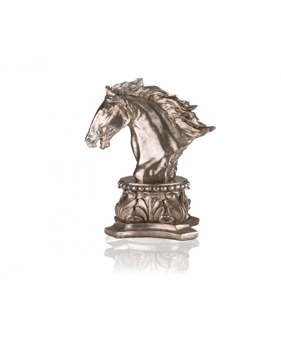 PR39-1027 - Gümüş At Biblo 41 cm