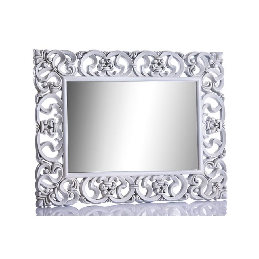PR42-1010 - Beyaz İşlemeli Ayna 130*101