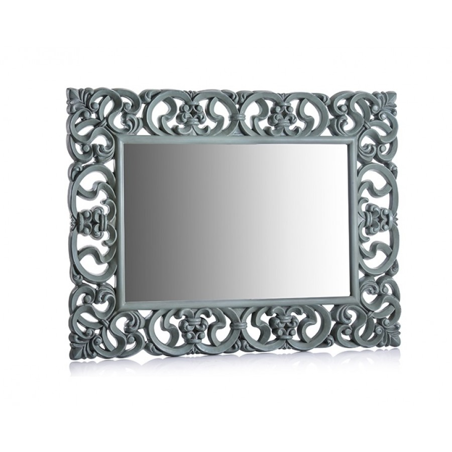 PR42-1011 - Turkuaz İşlemeli Ayna 130*101