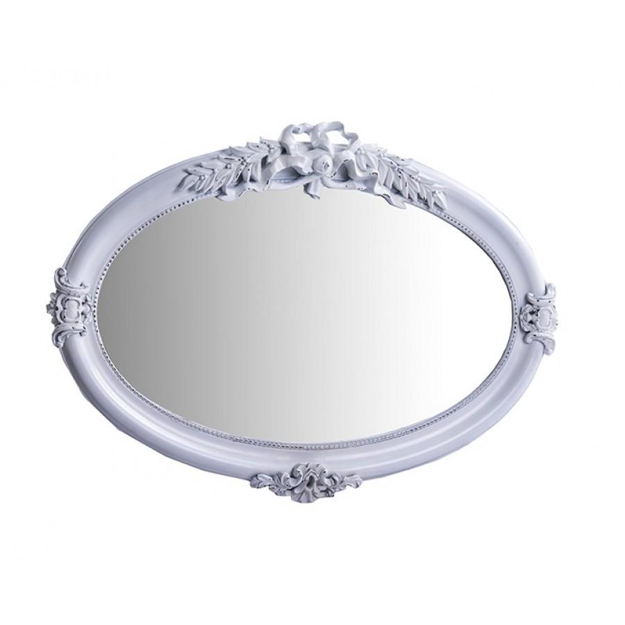 PR42-1024 - Beyaz Oval Ayna 104*74