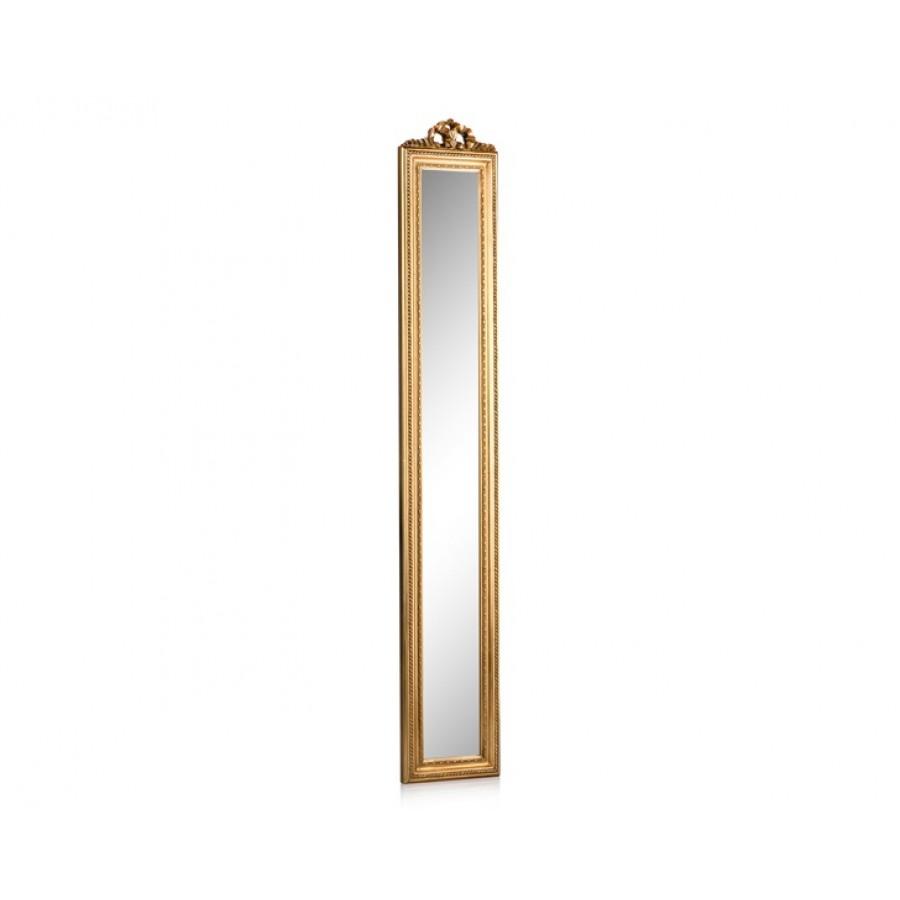 PR42-1038 - Altın Uzun İnce Ayna 109*13