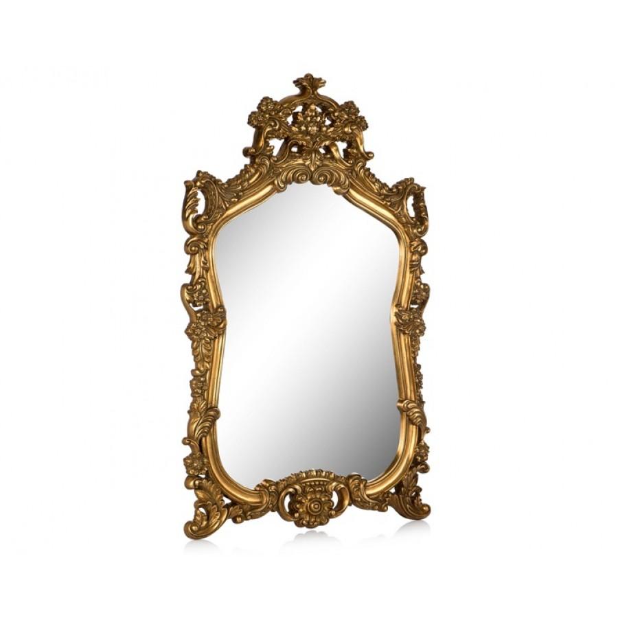 PR42-1048 - Bütün İşlemeli Altın Ayna 93*62
