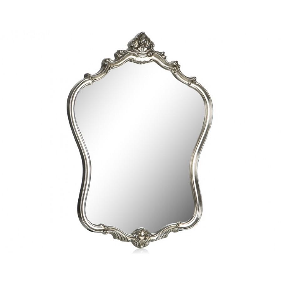 PR42-1057 - Taçlı Gümüş Şekilli Ayna  72*57