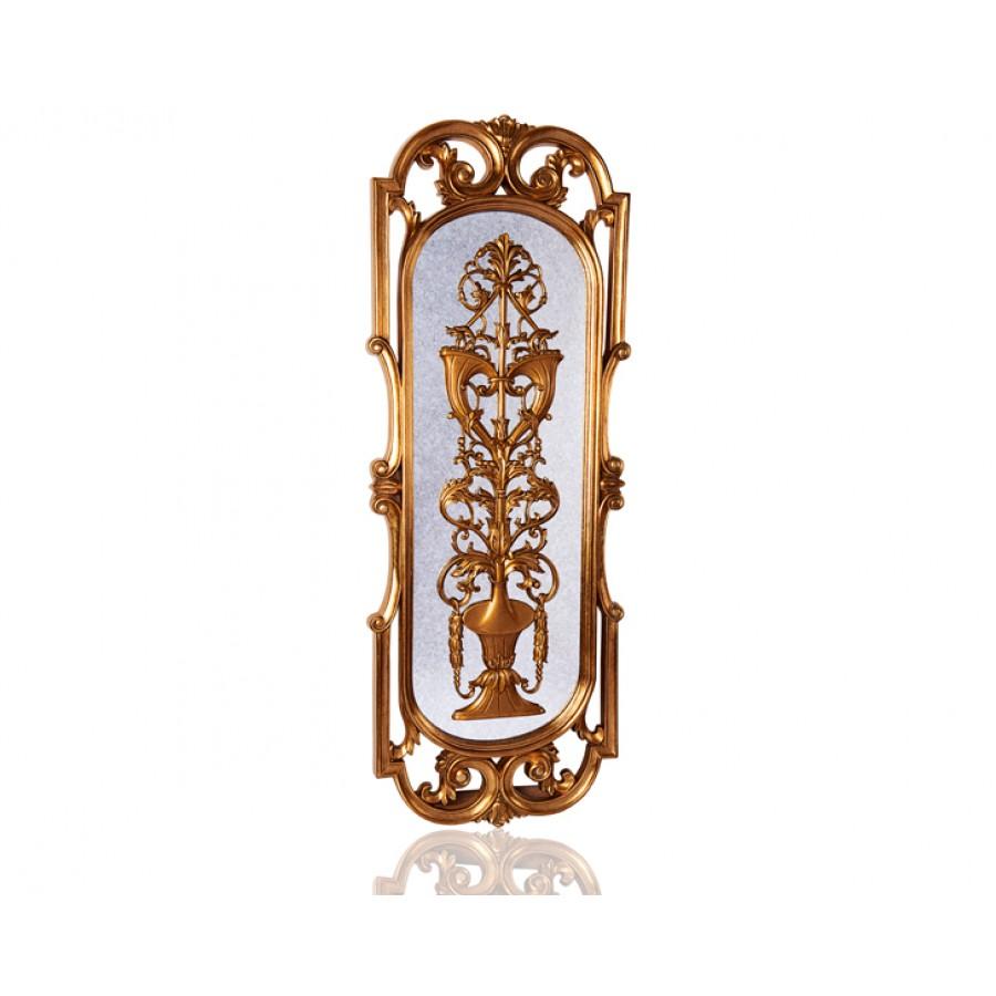 PR42-1081 - Ayna üzeri Altın İşlemeli Ayna 159*60