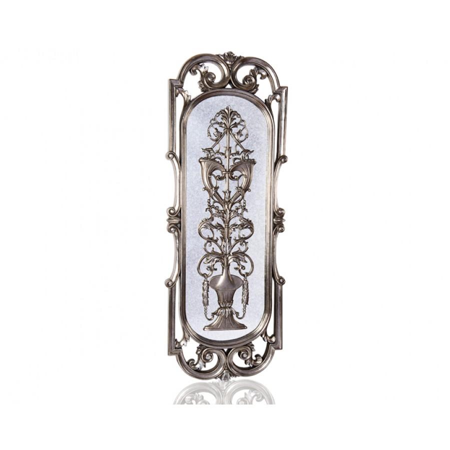 PR42-1082 - Ayna üzeri Gümüş İşlemeli Ayna 159*60