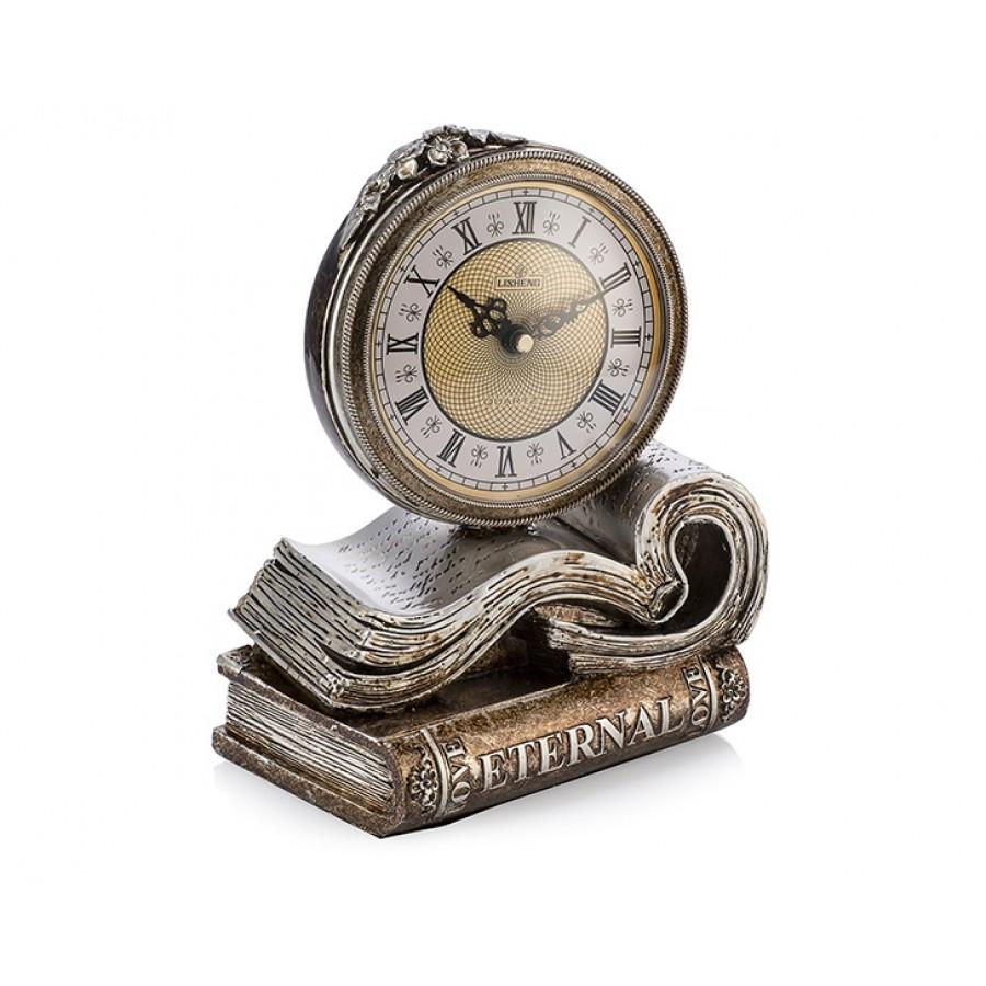 PR53-1035 - Kitap Figürlü Masa Saati 25*20