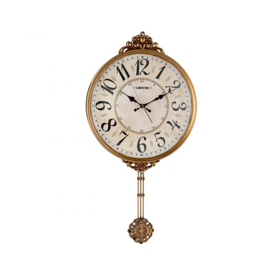 PR53-1037 - Sarkaçlı Klasik Duvar Saati 42*70