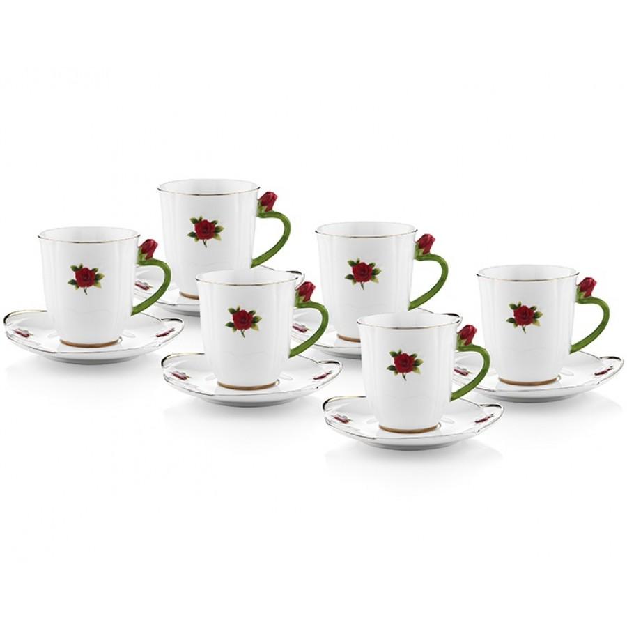 PR61-1034 - Kırmızı Güllü Çay Fin. Tk.