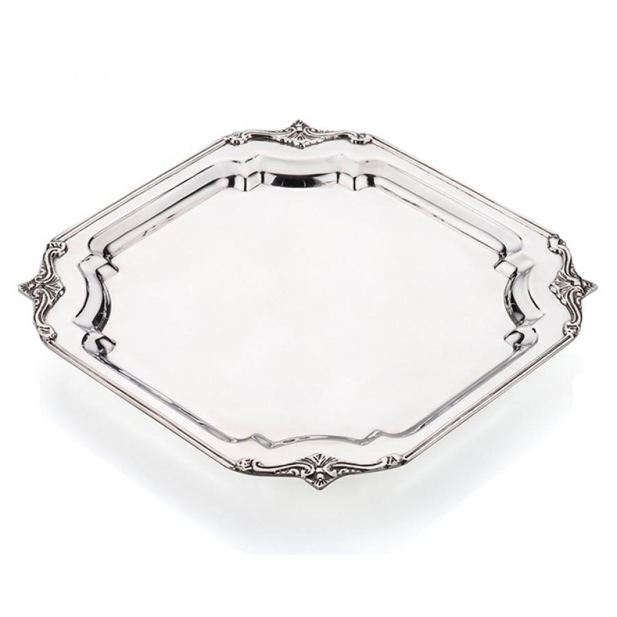 PR73-1034 - Gümüş Kare Tepsi 28*28