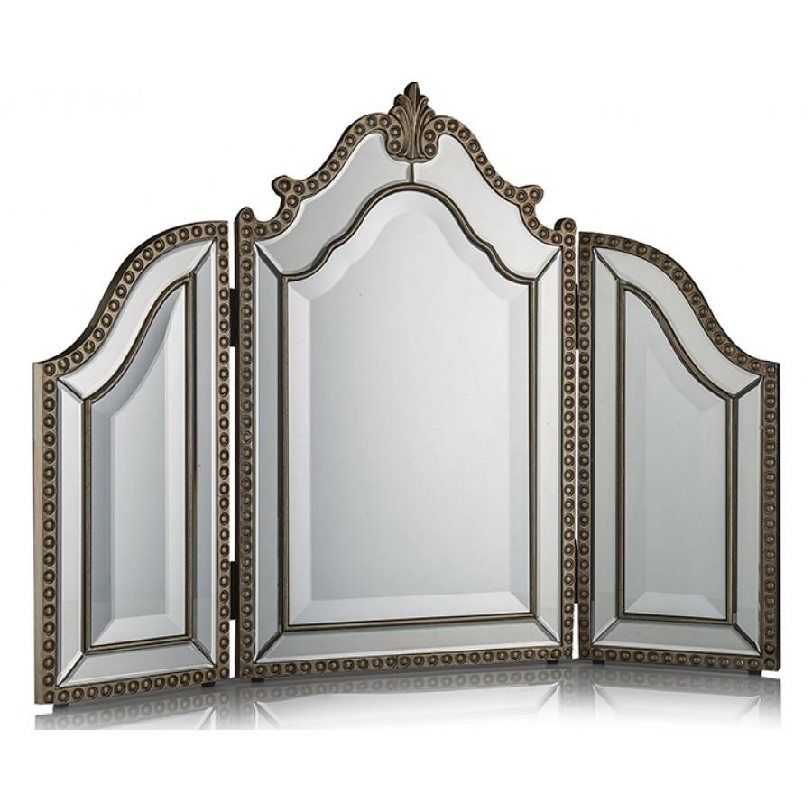 PR75-1003 - Gümüş 3Bölmeli Ayna 65*89