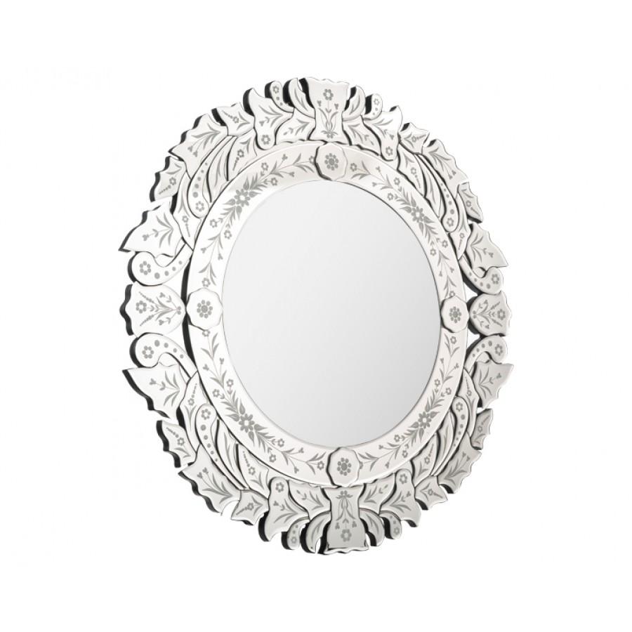 PR75-1015 - Yuvarlak Venedik Ayna 82*82