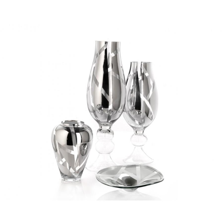 PR84-1003 - 4 Parça Silver Cam Salon Takımı