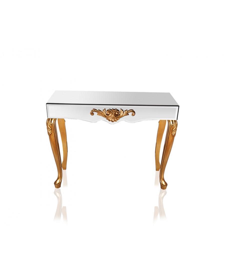 PR89-1033 - Altın Aynalı Dresuar 110*88*40