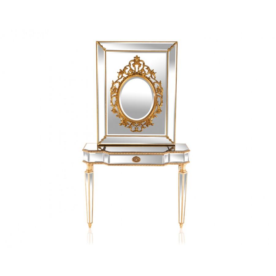 PR89-1040 - Verona Gold Dresuar Ayna Seti 110*88*40 cm