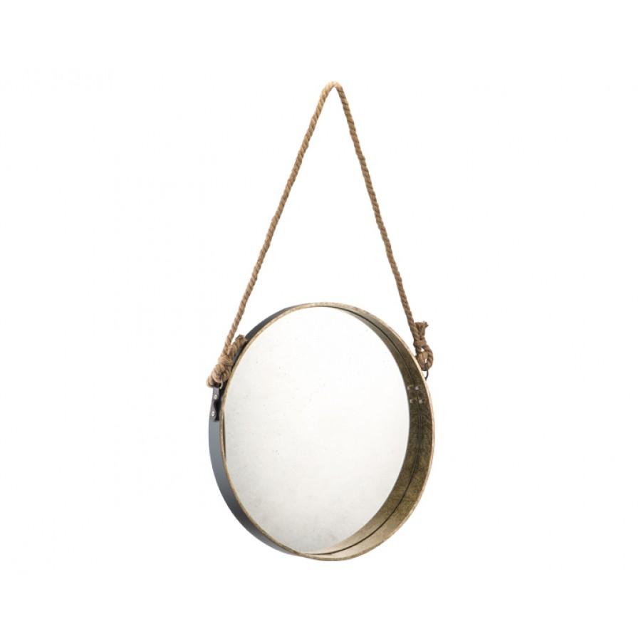 PR90-1008 - İp Asmalı Oval Ayna 61*61
