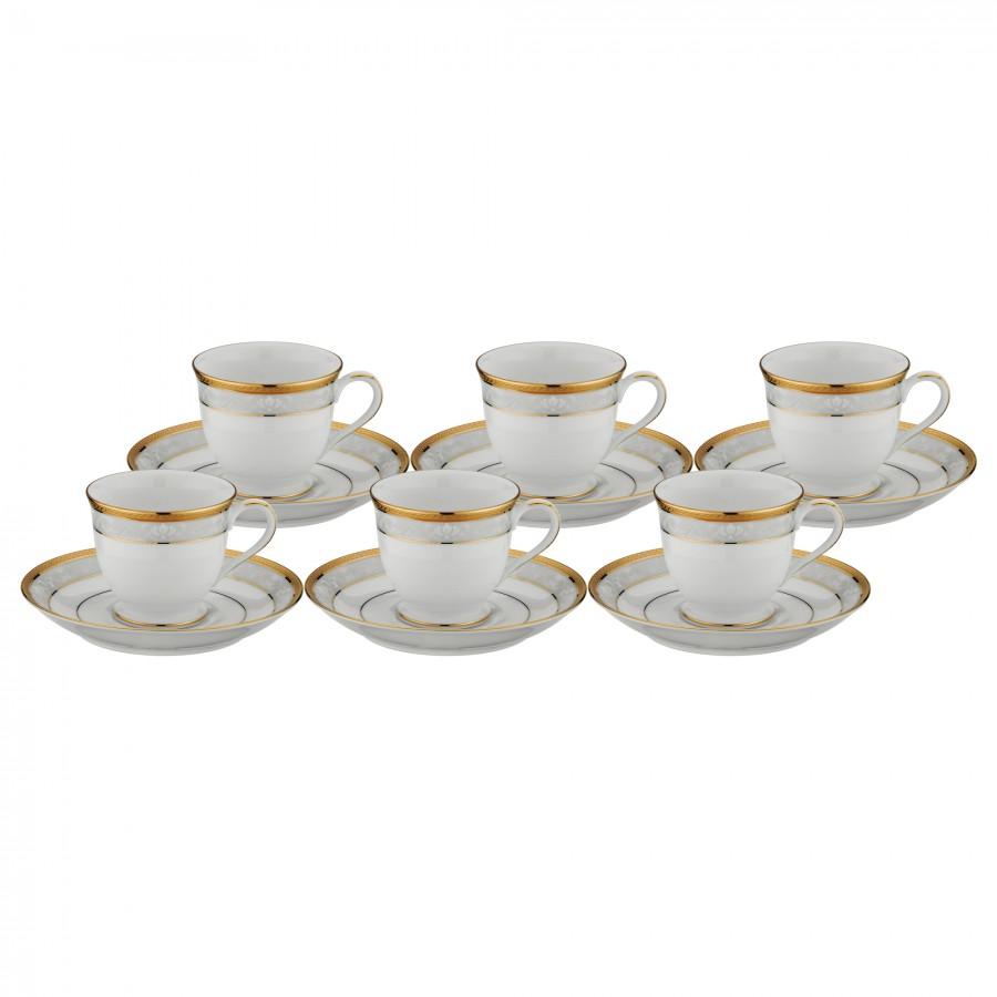 PRN-4335-K - Noritake HAMPSHIRE GOLD Kahve Fincan Takımı
