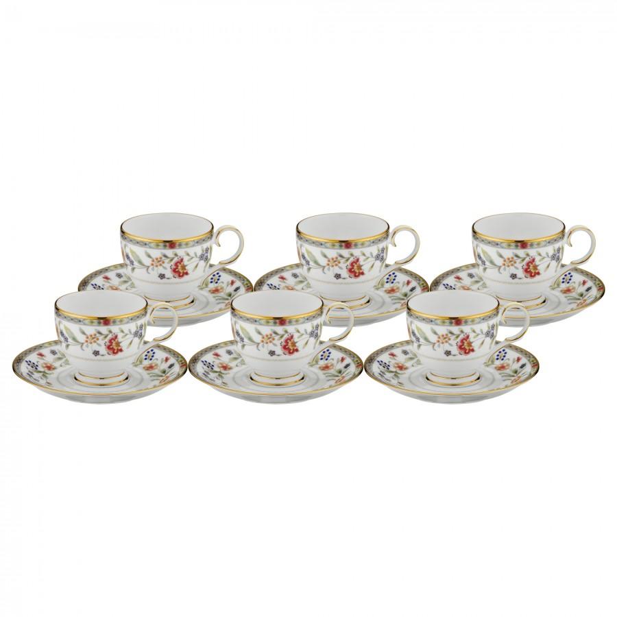 PRN-4909-K - Noritake PRIMROSE Kahve Fincan Takımı